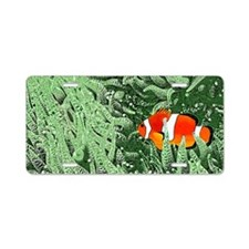 Clownfish Aluminum License Plate
