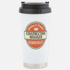 construction manager vi Thermos Mug