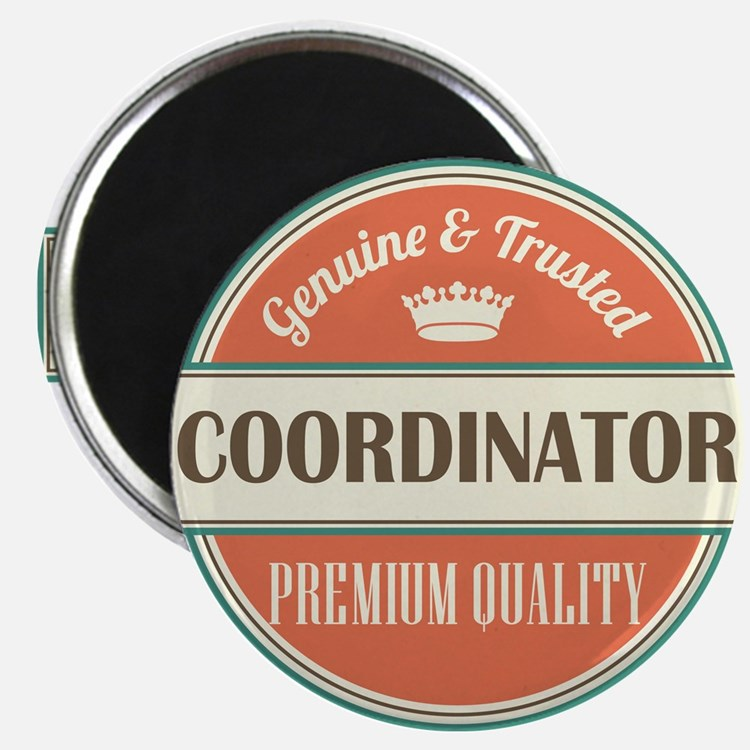 coordinator vintage logo Magnet