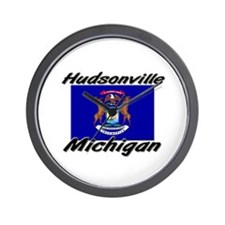 Hudsonville Michigan Wall Clock