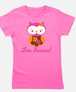 Funny 7th birthday Girl's Tee