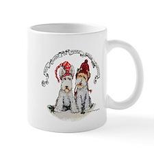 Fox Terrier Christmas Mugs