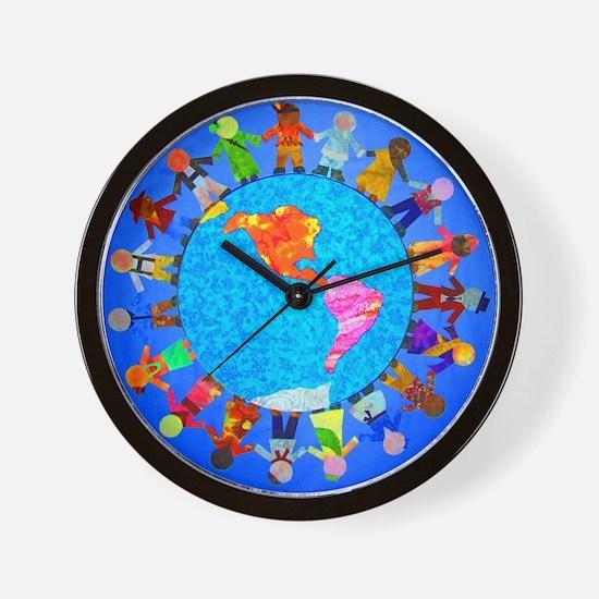 Unique World peace Wall Clock