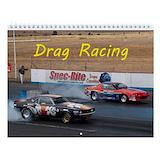 Drag racing Wall Calendars