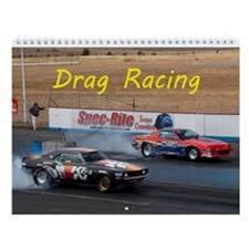 Drag Racing Wall Calendar