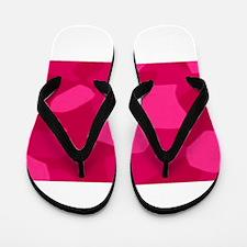 Berry Camaflouge Flip Flops