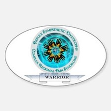 CRPS RSD Warrior Starburst Shield Decal