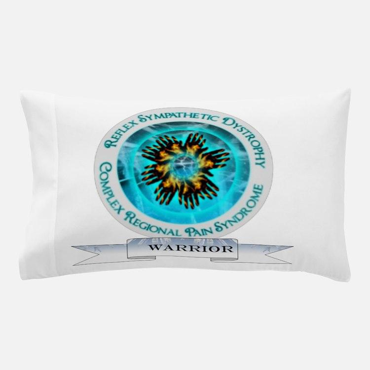 CRPS RSD Warrior Starburst Shield Pillow Case