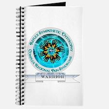 CRPS RSD Warrior Starburst Shield Journal