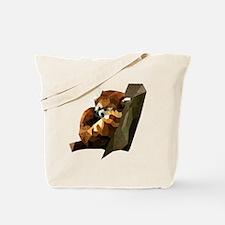 Cute Pop art panda Tote Bag