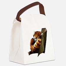 Unique Red panda Canvas Lunch Bag