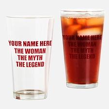 Custom Woman Myth Legend Drinking Glass