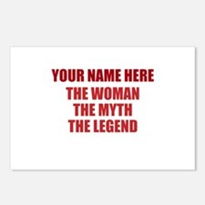 Custom Woman Myth Legend Postcards (Package of 8)