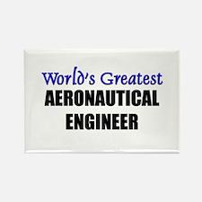 Worlds Greatest AERONAUTICAL ENGINEER Rectangle Ma