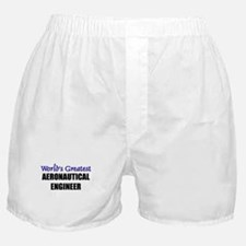 Worlds Greatest AERONAUTICAL ENGINEER Boxer Shorts