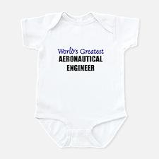 Worlds Greatest AERONAUTICAL ENGINEER Infant Bodys