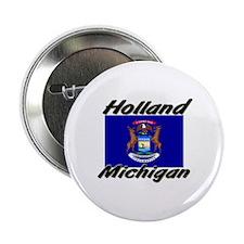 Holland Michigan Button