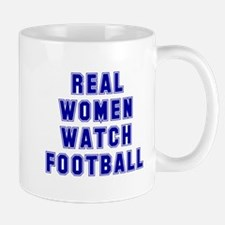Real women like football Mug