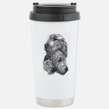 Cute Irish wolfhound Thermos Mug
