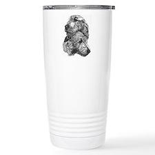 Cute Wolfhound Travel Mug