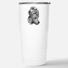 Unique Irish wolfhound Travel Mug