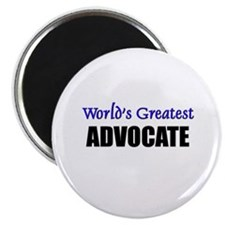 Worlds Greatest ADVOCATE Magnet
