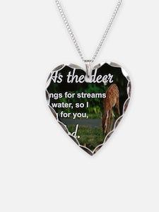 Unique Deer god Necklace