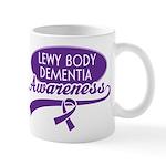 Lewy Body Dementia Awareness Mugs