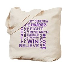 Lewy Body Dementia Walk Tote Bag