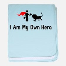 Zookeeping Hero baby blanket