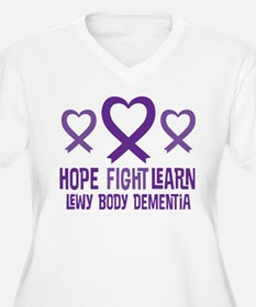 Lewy Body Dementia Hope Plus Size T-Shirt