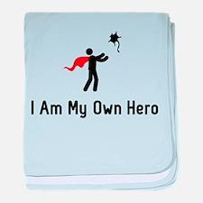Sugar Glider Hero baby blanket