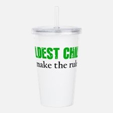 OLDEST CHILD (green) Acrylic Double-wall Tumbler