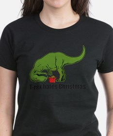 Cute Rex can%27t do pushups Tee