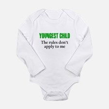 YOUNGEST CHILD (green reverse) Body Suit