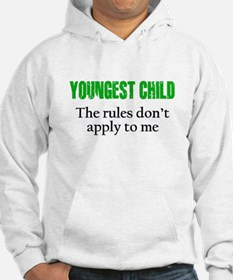YOUNGEST CHILD (green reverse) Hoodie