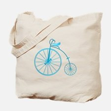 Blue Old Fashioned Tote Bag