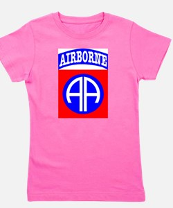 Cute Us army veteran Girl's Tee