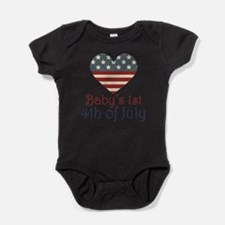 Funny Fourth july Baby Bodysuit