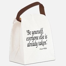 Funny Quotes Canvas Lunch Bag