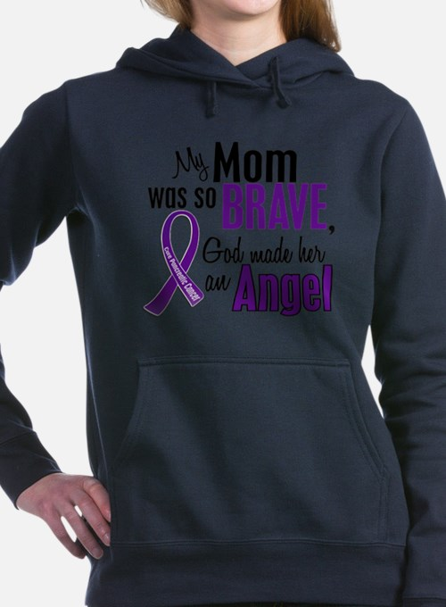 Cute Angels and cancer Women's Hooded Sweatshirt