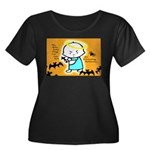 Baby Jesus Halloween Hell Women's Plus Size Scoop