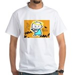 Baby Jesus Halloween Hell White T-Shirt