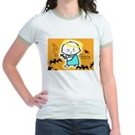 Baby Jesus Halloween Hell Jr. Ringer T-Shirt