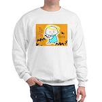 Baby Jesus Halloween Hell Sweatshirt
