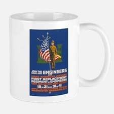 US Army Join the Engineers WWI Propaga Mug