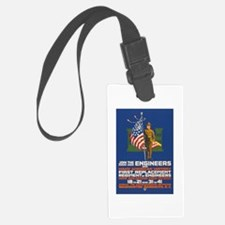 US Army Join the Engineers WWI Luggage Tag