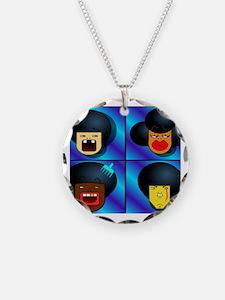 Unique Funny disco Necklace
