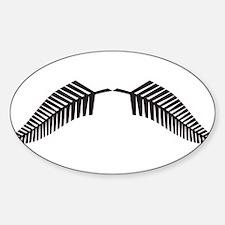 Cute Jokes Sticker (Oval)