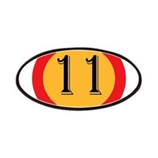 Number 11 Patch